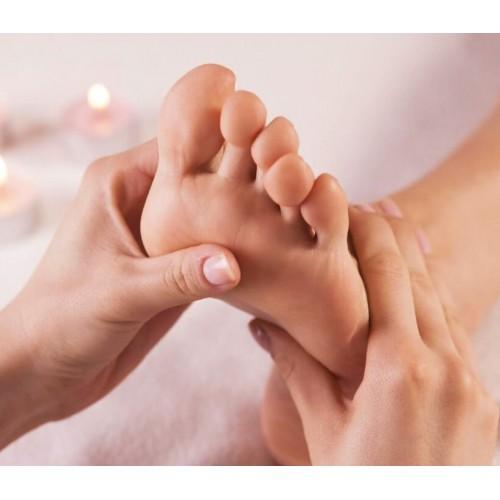 Beauté des pieds option gommage et modelage